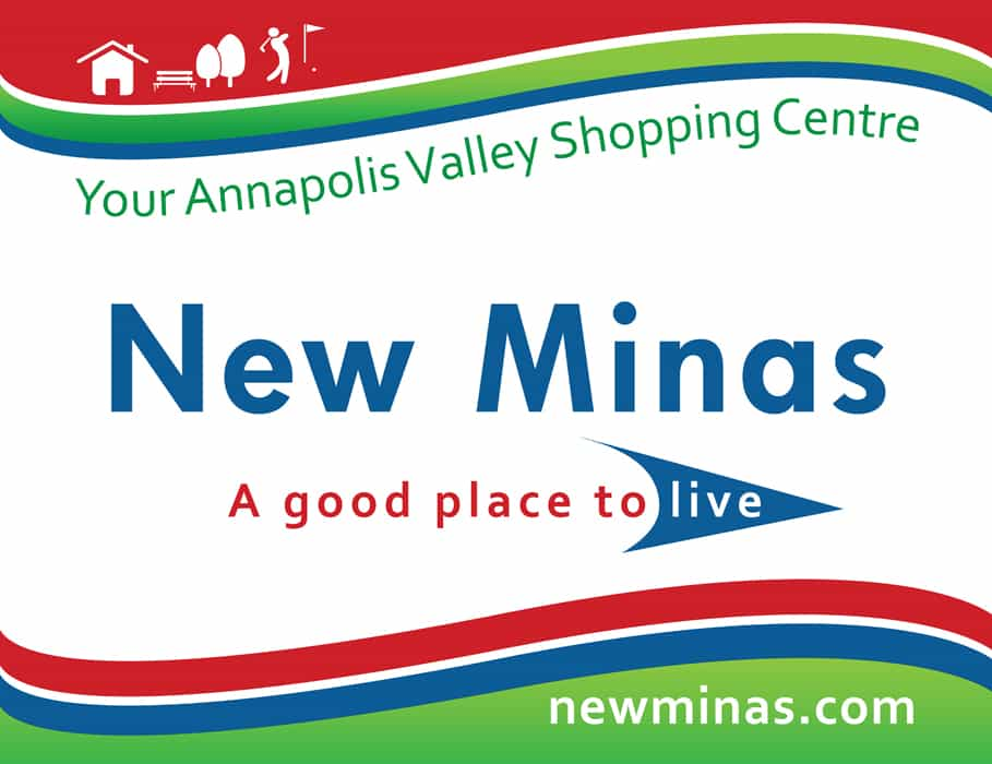 Welcome to New Minas sign